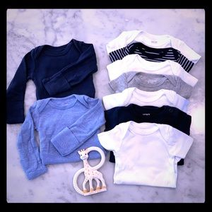 Newborn Boy Bodysuit Bundle